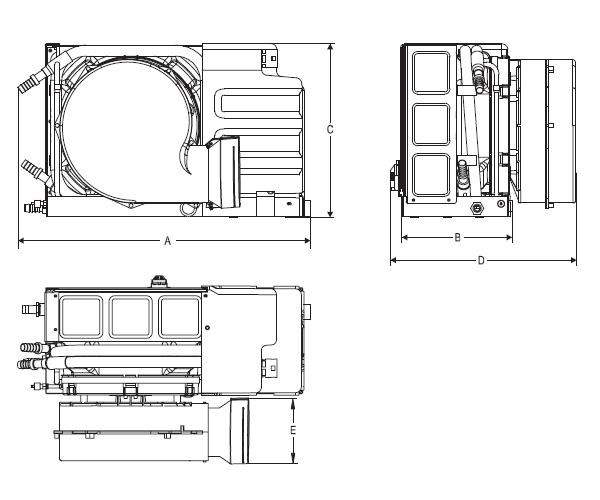 9000 btu  110v  self contained marine air conditioner