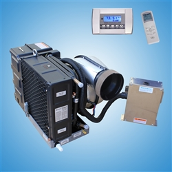 9,000 Btu/h Self Contained Marine Air conditioner and Heat pump 110-120V/60Hz