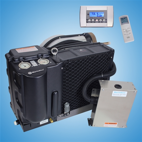 14,000 Btu/h Self Contained Marine Air conditioner and Heat pump 110-120V/60Hz