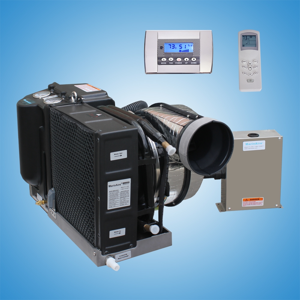 14,000 Btu/h Self Contained Marine Air conditioner and Heat pump  110-120V/60Hz