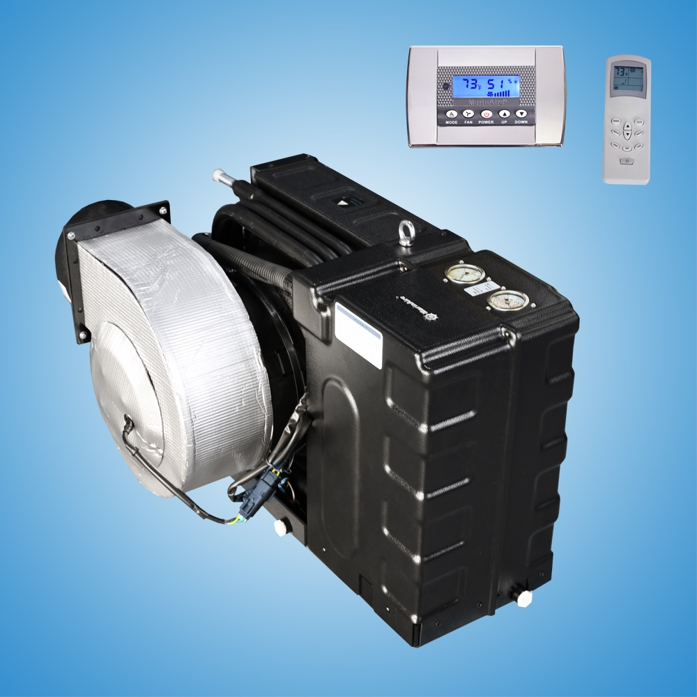 24000 Btu 230v Self Contained Marine Air Conditioner System Best Cruisair Ac Wiring Diagram H And Heat Pump 208230v