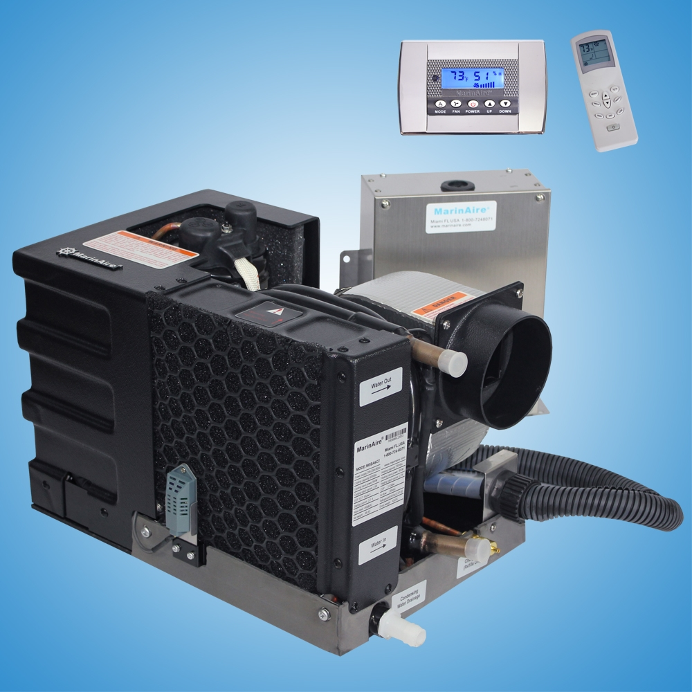 6000 btu, 220v, self contained marine air conditioner system. best