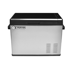 MarinAire 40 QT Portable Refrigerator Freezer 12/24VDC, 115VAC with compressor