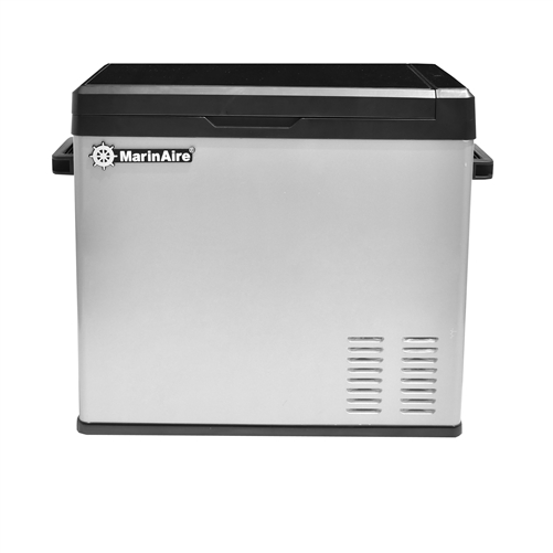 MarinAire 50 QT Portable Refrigerator Freezer 12/24VDC, 115VAC with compressor